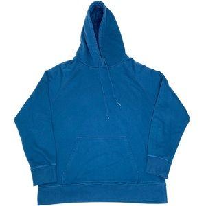 Richer Poorer Basic Essential Hoodie Large Blue